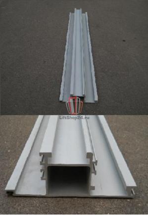 Линейка (трек) телескопического привода дверей L=1358мм OTIS