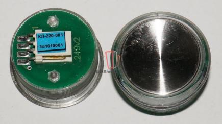 Кнопка КЛ-220-01 (зеленая) OTIS