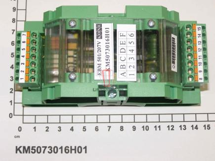 Тормозной модуль эскалатора ECO 501/207V EBM KONE
