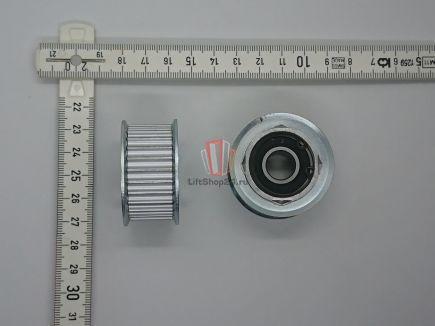 Ролик натяжной ремня привода двери кабины D=44 мм ESHINE