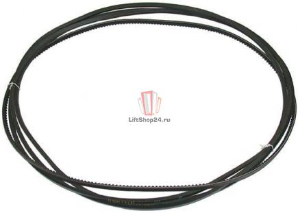 Клиновые ремни привода дверей кабины QKS9 (комплект 4 шт) SCHINDLER