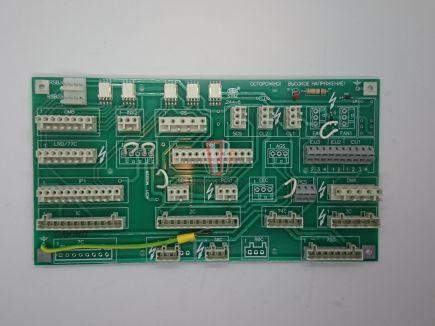 Плата клемной коробки DR1 MCS220/ACD1 (крыша кабины) OTIS