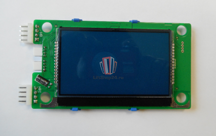 Плата индикации вызывного аппарата LMBS430 V3.2.5 XIZI OTIS