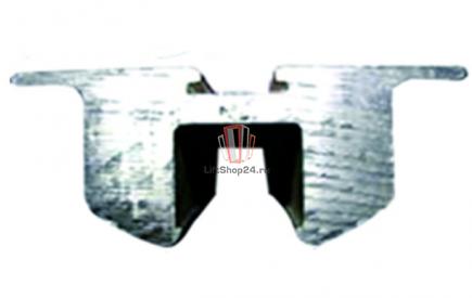 Алюминиевая направляющая 2000мм (рабочая ветвь) эскалатора OTIS 506NCE