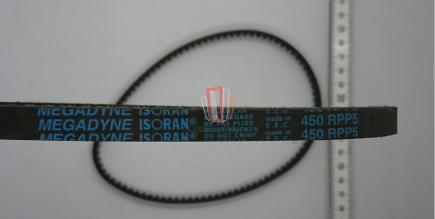 Ремень зубчатый закольцованный H=10мм, шаг 5 мм L=450мм Fermator