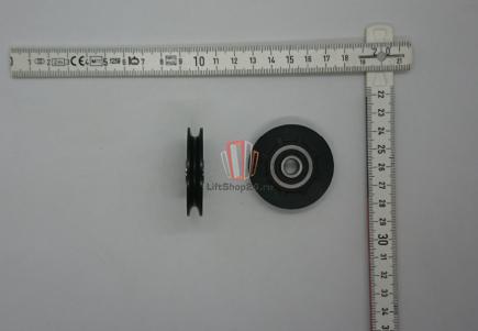 Ролик троса бесконечности PFR-09 D47mm, внутренний D8mm Fermator