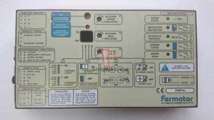 Блок управления приводом Fermator VVVF4+