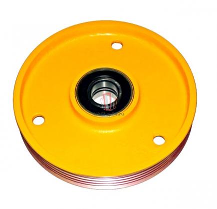Блок отводной 400х5х10 ширина L=83мм d(вала)=60мм (стальной) OTIS