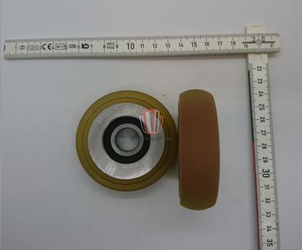 Ролик направляющего башмака кабины/противовеса D=76мм OTIS