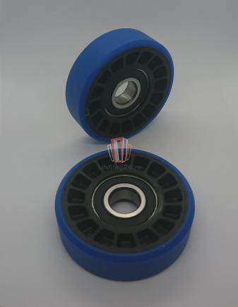 Ролик ступени эскалатора (подшипник 6203RS, D=76мм, H=22 мм, Dвн=17 мм)