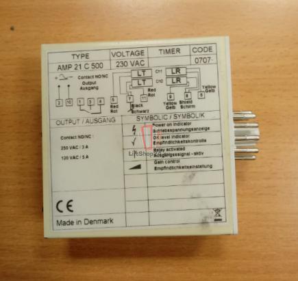Контроллер TELCO AMP 21 C 500 230VAC BLT/Brilliant