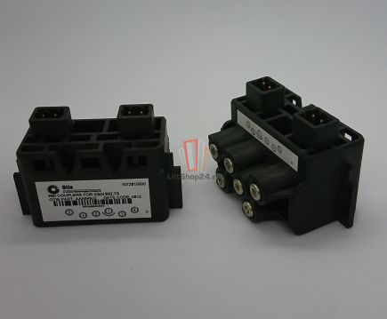 Коннектор С РАЗЪЕМАМИ тяговых ремней 30мм 43кН (заглушка) RBI (система контроля CSB) OTIS
