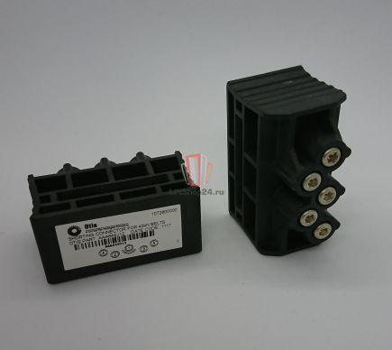 Коннектор БЕЗ РАЗЪЕМОВ тяговых ремней 30мм 43кН (заглушка) RBI (система контроля CSB) OTIS