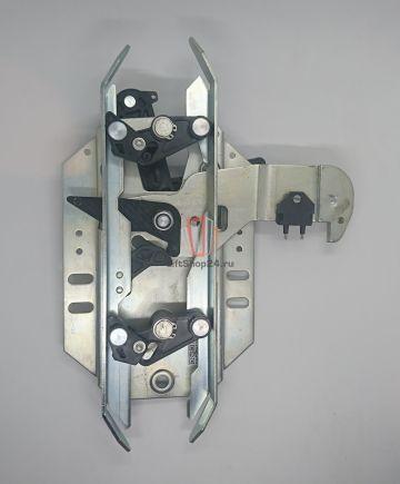 Отводка двери кабины, левая с замком CDL Premium PM Fermator