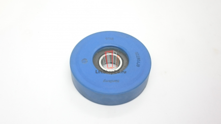 Ролик ступени эскалатора (подшипник 6203RS, D=76мм, H=20 мм, Dвн=16 мм)