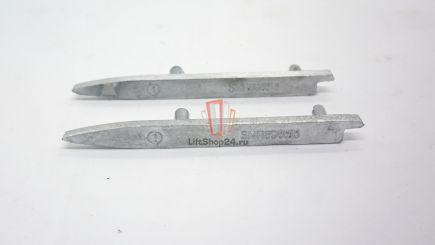 Накладка гребенок левая алюминий Schindler