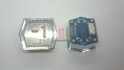 Кнопка приказа ANNIU-PCB-V7 (Брайль, -1)