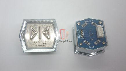 Кнопка приказа ANNIU-PCB-V7 (Брайль, Закрытие двери)