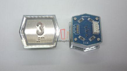 Кнопка приказа ANNIU-PCB-V7 (Брайль, 3)