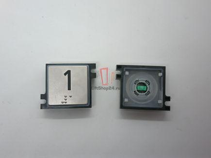 Нажимной элемент кнопки призака SCHINDLER (BP GS1 P T / 2 BGS)