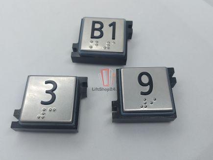 Нажимной элемент кнопки приказа SCHINDLER (BP GS1 P T / 2 BGS)
