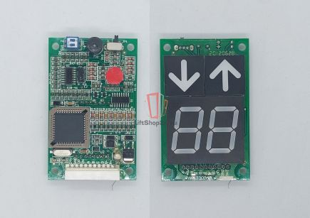 Плата индикации DOPPLER (KVL100 24VDC красная подсветка)