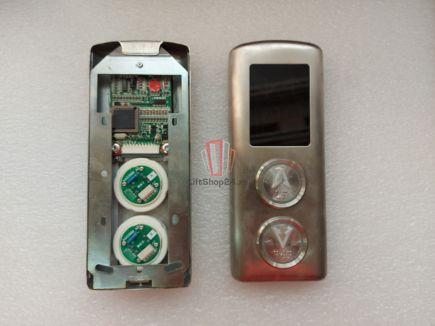 Панель вызова Doppler (ВВЕРХ и ВНИЗ, индикатор KVL100 24VDC, красный)
