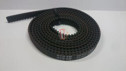 Ремень зубчатый H=12мм, шаг 5 мм L=1000мм Fermator
