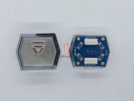 Кнопка вызова ANNIU-PCB-V7 (Брайль, Вниз)