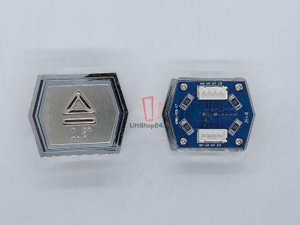 Кнопка вызова ANNIU-PCB-V7 (Брайль, Вверх)