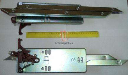 Отводка двери кабины, правая стандартная L=470мм Fermator