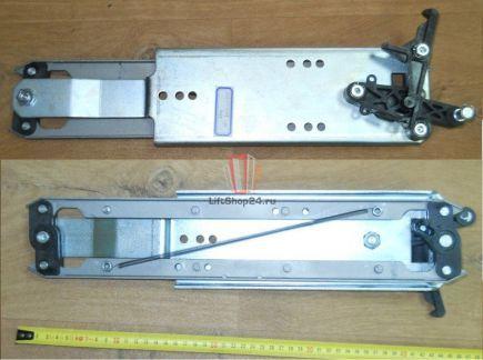 Отводка двери кабины, левая с алюминиевая (новый тип) Fermator