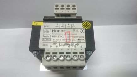 Трансформатор EI84/43/1KL 0551 5060Hz Hodde BKG