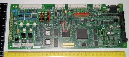 Плата управления частотного преобразователя OVF20 MCB III (MCB-3) OTIS