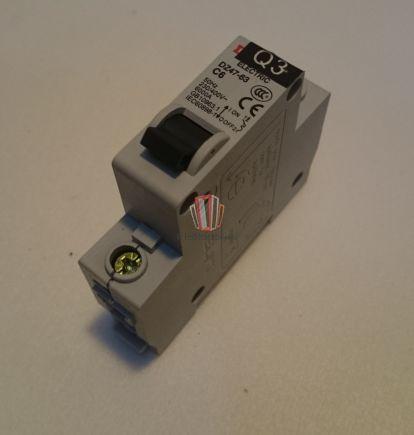 Автоматический выключатель DZ47-63 C6 Sjec
