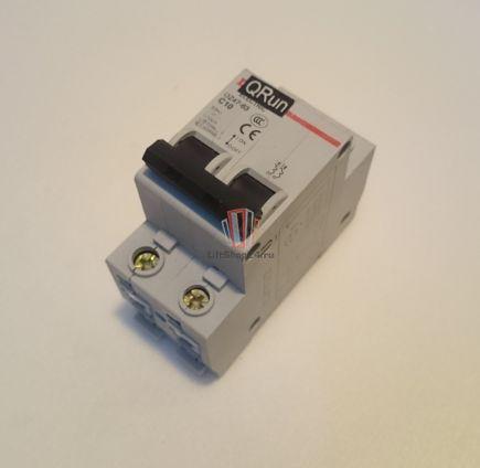 Автоматический выключатель DZ47-63 C10 Sjec