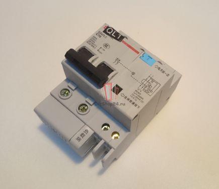 Автоматический выключатель DZ47LE C16 Sjec