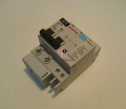 Автоматический выключатель DZ47LE D6 Sjec