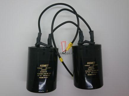 Конденсатор 3300 мкФ 400 В Macpuarsa